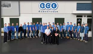 Our team d'électriciens chez SCE Electric